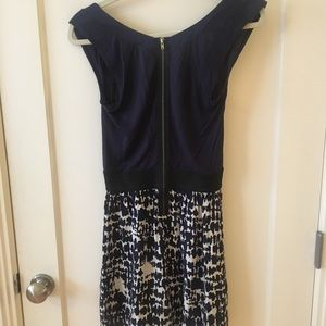 Eight Sixty Dresses - Eight Sixty size xs navy, white and black dress